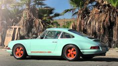 Singer Porche 911. This is the Porche you buy if you love the marque for what it is truly about....The drive...