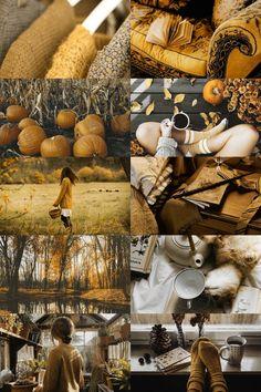 a hufflepuff autumn! Autumn Aesthetic, Witch Aesthetic, Aesthetic Collage, Harry Potter Aesthetic, Autumn Cozy, Hogwarts Houses, Mellow Yellow, Autumn Inspiration, Fall Halloween
