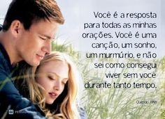 frases de filmes querido john Querido John, I Love You, My Love, Dear John, My Dream, Love Quotes, Romance, Couple Photos, Books