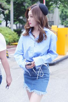 Bae Joo-hyun (배주현) also known as Irene (아이린) of Red Velvet (레드벨벳).