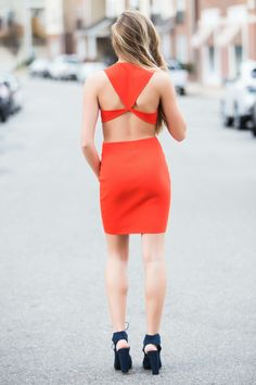 sexy red dress | Valentines Day Dress