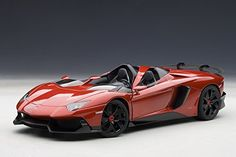 Lamborghini Aventador J (Metallic Red) 74673 - Diecast Model Cars