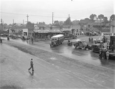 1951 Corner of Maroondah Highway and Melbourne St Melbourne Weather, Melbourne Suburbs, Australia Photos, Melbourne Australia, Melbourne Victoria, Historical Pictures, Photo Archive, Historic Homes, Back In The Day