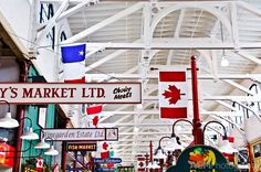Rediscovering my hometown - The Saint John City Market is the oldest farmer's market in Canada. New Brunswick Canada, Wonderful Places, Amazing Places, Saint John, Rv Parks, Heaven On Earth, Nova Scotia, The Good Place, Places To Go