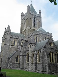 Dublin, Ireland. Christ Church-been there, photographed that!! Very beautiful.