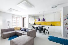 Casinha colorida: Home Tour: lindo, colorido e animado