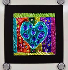 Art with Ms. Gram: Jim Dine Inspired Embossing