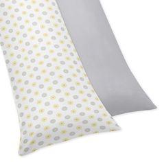Sweet JoJo Designs Mod Garden Full Length Double Zippered Body Pillowcase Cover   Overstock.com Shopping - The Best Deals on Pillowcases & Shams