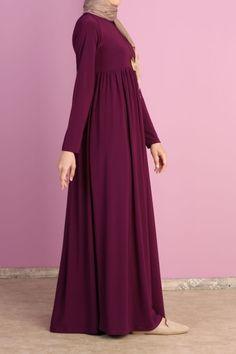 Hijap And good Muslim Dress, Hijab Dress, Hijab Outfit, I Dress, Abaya Fashion, Muslim Fashion, Modest Fashion, Modele Hijab, Arabic Dress