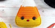 Candy Corn Amigurumi Free Crochet Pattern • Spin a Yarn Crochet Crochet Yarn, Free Crochet, Candy Corn, Crochet Patterns, Hobbies To Try, New Hobbies, Crochet Christmas Decorations, Halloween Crochet, Autumn Theme