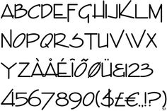 architect font - Google Search