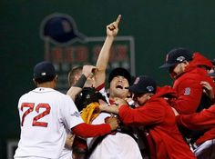 The Red Sox are world series bound