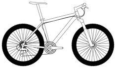 drawing mountain bike - Google Search