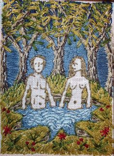 Michelle Kingdom's embroideries