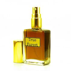 True Forest-Natural Forest Cologne for Men.  Smell great with notes of Wood, Pine, Moss, Flowing rivers and Tree filtered sunlight. Wear the Woods!
