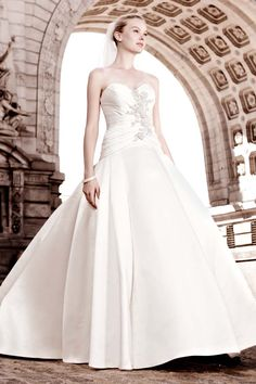 Choose from affordable wedding dresses and gowns by David's Bridal. Find the perfect wedding dresses on sale from David's Bridal! Affordable Wedding Dresses, Wedding Dresses For Sale, Bridal Dresses, Wedding Gowns, Bridesmaid Dresses, Lace Wedding, Sweetheart Wedding Dress, Wedding Bells, Wedding Band