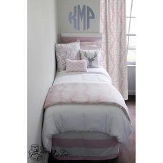 Bella Pale Pink Designer Bed In A Bag Set