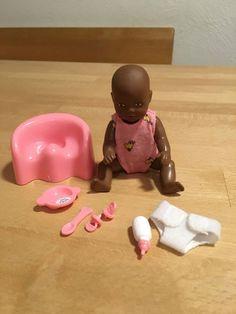 Baby born miniworld Puppe mit Zubehör