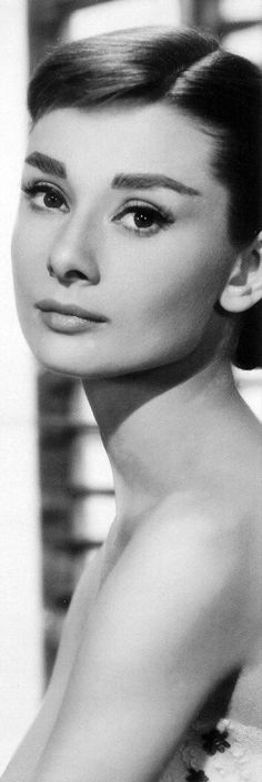 Audrey. I just watched a biography of her life and she really was a wonderful woman.