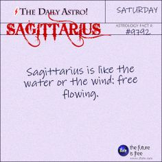 Sagittarius Daily Astro!: Take a look at your horoscope for today, Sagittarius.  Visit iFate.com today!