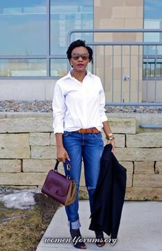 блог justpatience белая рубашка + джинсы