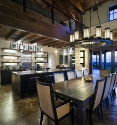 Lance Armstrong's kitchen and dining area Kitchen Interior, Home Interior Design, Ranch Kitchen, New House Plans, Celebrity Houses, Breakfast Nook, Modern House Design, Beautiful Interiors, My Dream Home
