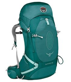 Osprey Aura AG 50 Womens Hiking Backpack Small Rainforest Green -- Click image for more details.(This is an Amazon affiliate link and I receive a commission for the sales)