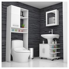 How much does a bathroom renovation cost? Bathroom Shelf Decor, Small Bathroom Storage, Bathroom Organisation, Bathroom Furniture, Rustic Furniture, Home Room Design, Bathroom Interior Design, Rustic Bathrooms, Modern Bathroom