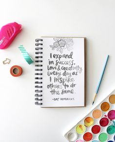 Gay Hendricks quote scripted by Amy Tangerine