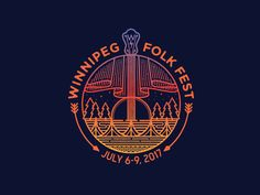Winnipeg Folk Fest by Brian Steely #Design Popular #Dribbble #shots