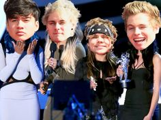 Look, 5sos did win Artist to Watch;)