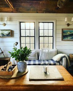 1920s House, Cottage Renovation, Winter Light, Cottage Interiors, Small Living, Cottage Style, Home Projects, Sweet Home, House Design