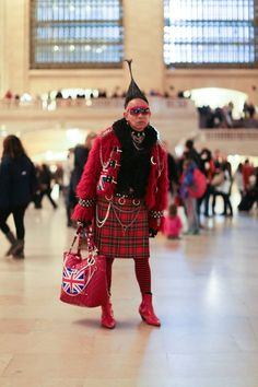 """I Feel Powerful"" Humans of New York Tartan Fashion, Boho Fashion, Brandon Stanton, Humans Of New York, Good Looking Women, We Are The World, Lady And Gentlemen, Tartan Plaid, Gossip Girl"