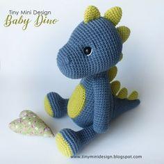 Crochet Dinosaur Patterns, Crochet Doll Pattern, Crochet Patterns Amigurumi, Crochet Dolls, Crochet Baby, Single Crochet, Amigurumi Giraffe, Amigurumi Doll, Crochet Dragon