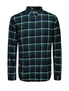 Flannel shirt from Jack & Jones #ucmholidaygiftguide