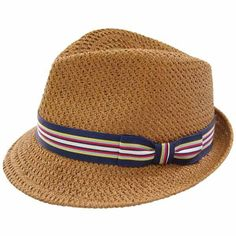 b30fcd59d83 Stingy Teardrop Fedora - Tan Toyo Straw Handcrafted Made in New York