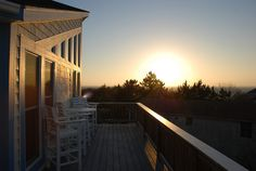 """You'll find incredible breathtaking sound views from this beautifully decorated Duck, NC event home. """"Pelican's View"""" 153-A is an elegant expression of style and character.  http://www.sunrealtync.com/house/153-a"""