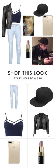 """""""Luke hemmings gender switch"""" by blobbytheblobfish ❤ liked on Polyvore featuring Charlotte Russe, Boohoo, Speck, Bobbi Brown Cosmetics and plus size clothing"""