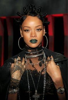 + Carolina Estilo + Maquillaje para San Patricio / St. Patrick's Day / Rihanna