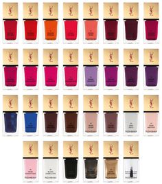 To know more about Yves Saint Laurent LA LAQUE COUTURE, visit Sumally, a social network that gathers together all the wanted things in the world! Featuring over other Yves Saint Laurent items too! Ysl Beauty, Beauty Nails, Beauty Art, Yves Saint Laurent, Couture Nails, Nail Polish Art, Art Nails, Nail Polishes, Nail Polish Collection