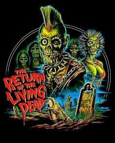 The Return of the Living Dead t-shirt design