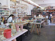 Studio at Clementina Ceramics