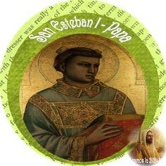 Leamos la BIBLIA: San Esteban I – Papa