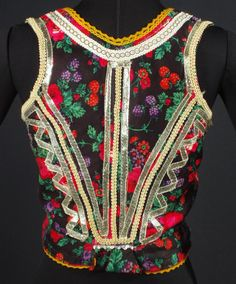 Vest from the Spiš region of Slovakia. Spiš is a region in north-eastern Slovakia. (V)