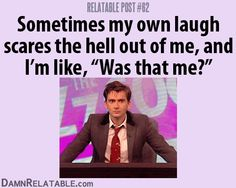 Outrageously Funny Relatable Posts - DamnRelatable.com (david tennant,relatable,the doctor,doctor who)