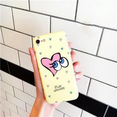 Playful Big Eyes Wink Blink iPhone case