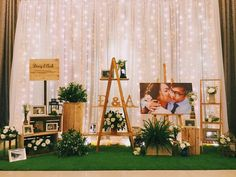 New wedding table dcoration ceremony backdrop ideas Decor Photobooth, Backdrop Decorations, Wedding Ceremony Decorations, Wedding Themes, Wedding Centerpieces, Backdrop Ideas, Wedding Deco Ideas, Photo Backdrops, Wedding Ceremony Backdrop