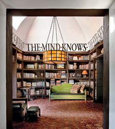 the mind knows library room