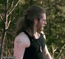 A fun Bam Bam Brown smile... Loving all that hair!  Alaskan Bush People