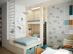 """Квартира для большой семьи """"Natural balance"""", U//ME architects, Детская комната, Дизайн интерьеров Formo.ua::"""